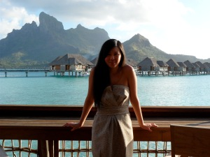 Me at Four Seasons Bora Bora!