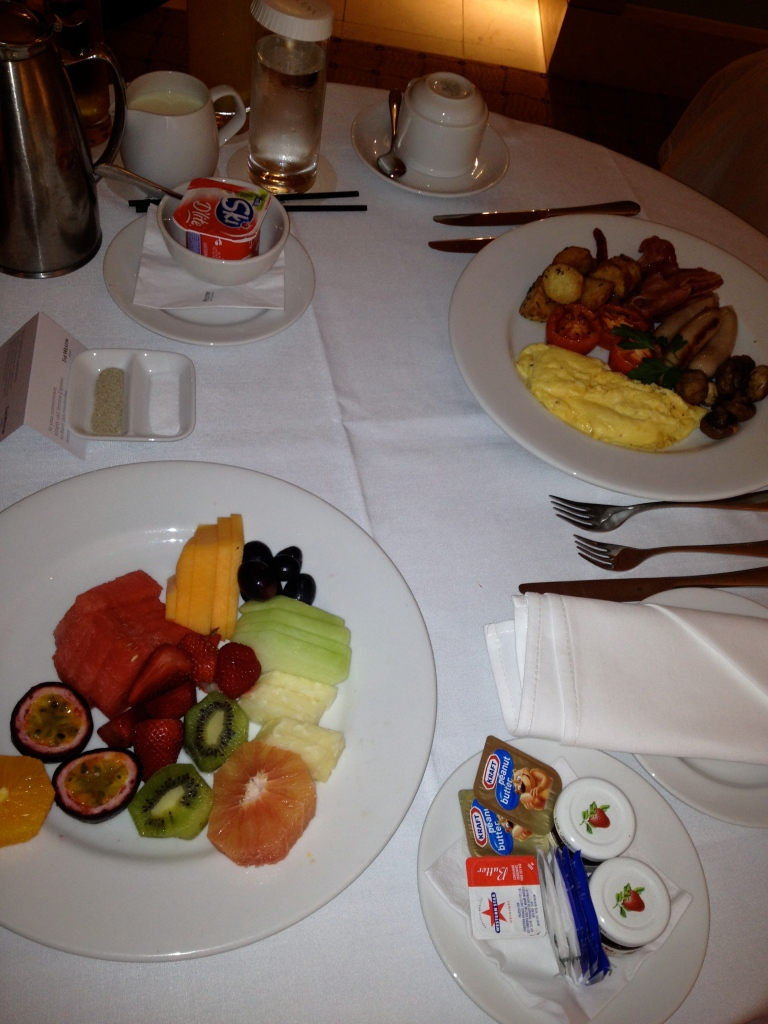 ROOM SERVICE BREAKFAST | THE WESTIN SYDNEY
