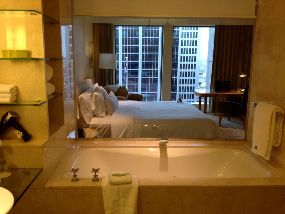 TOWER PREMIUM ROOM 2401 | VIEW FROM THE BATHROOM