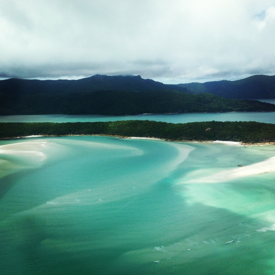 WHITEHAVEN BEACH BY SEAPLANE