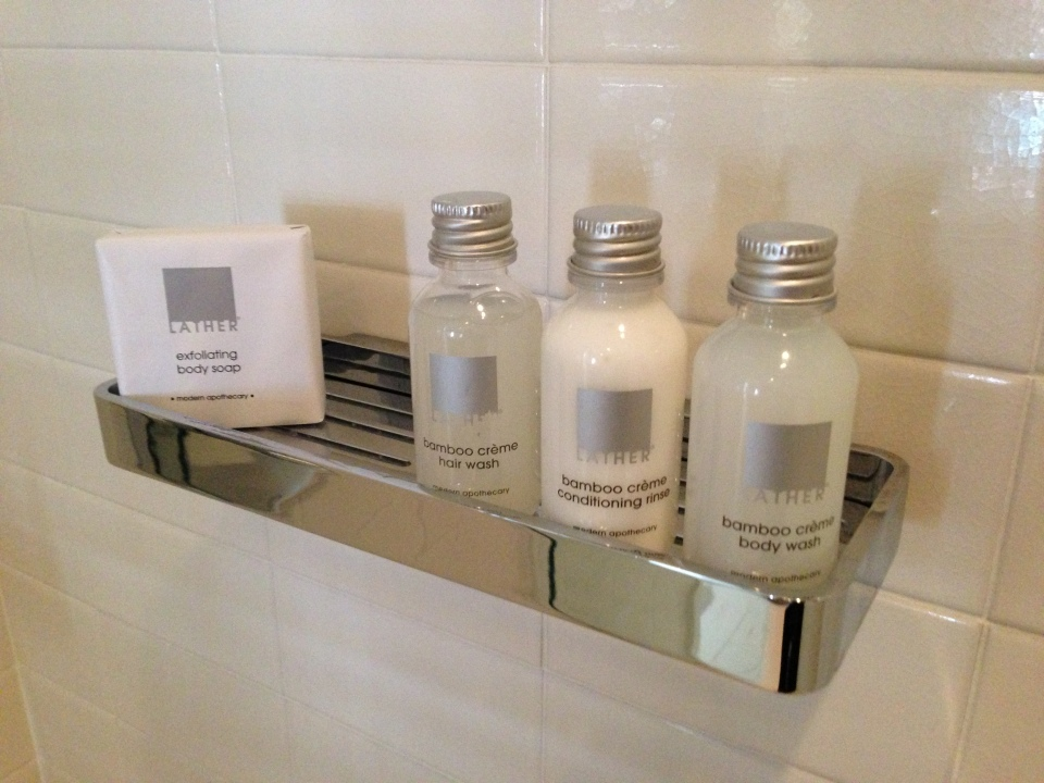 LATHER AMENITIES