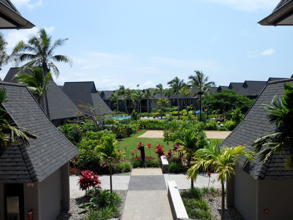 VIEW OF THE RESORT FROM BURE 24