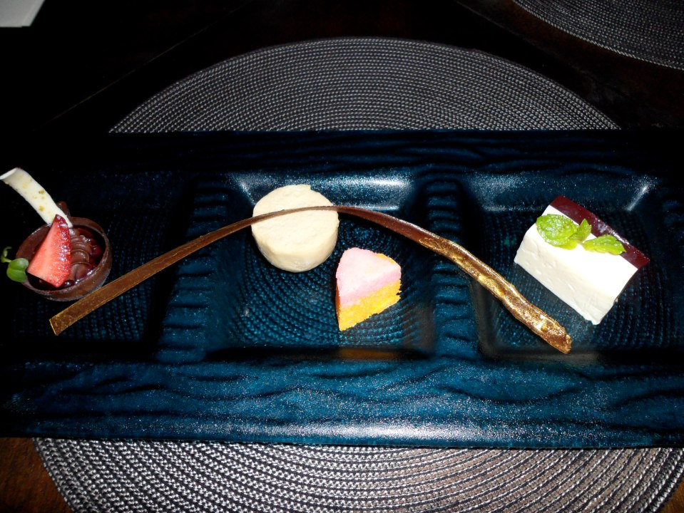 PRIVATE CABANA DINNER   SWEET TASTING PLATE TO SHARE