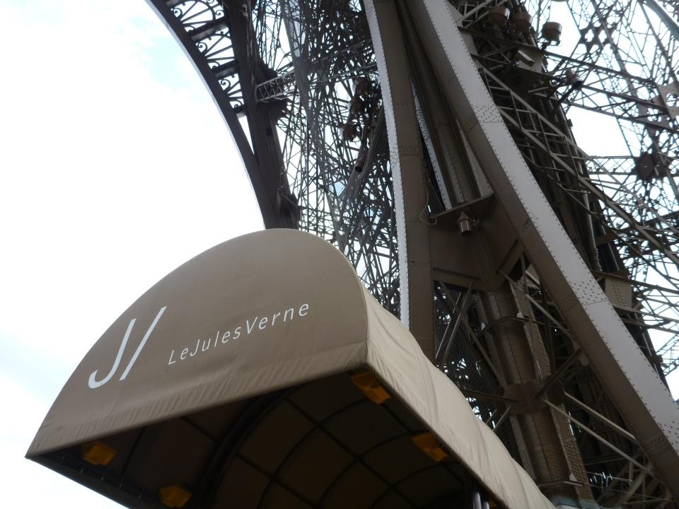 ENTRANCE TO LE JULES VERNE | PARIS
