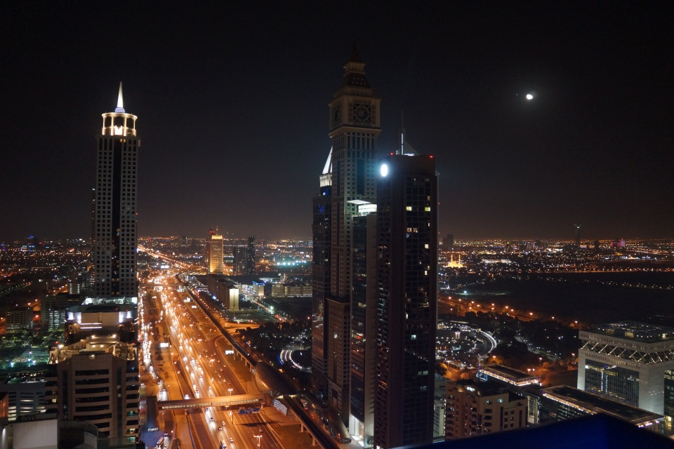 VIEWS OF DUBAI