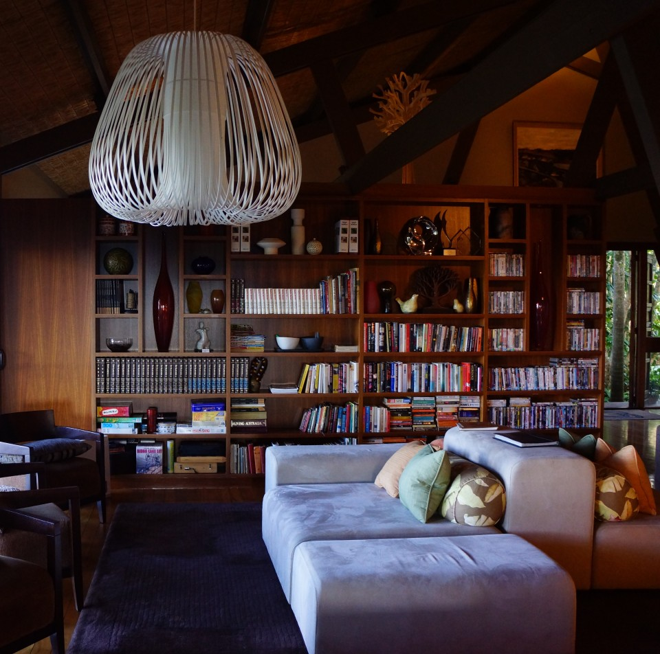 RELAX WITH A BOOK AT KUKURA HOUSE