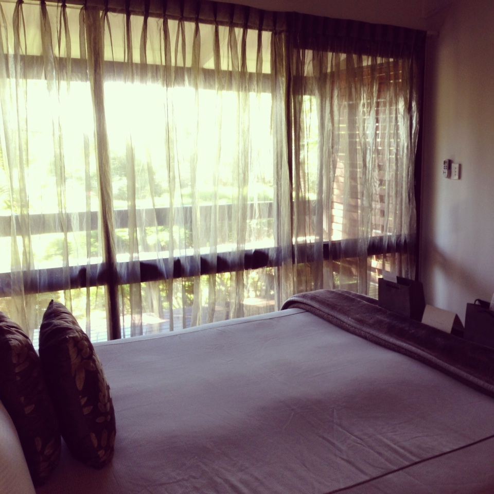 A VIEW TOWARDS THE SUB-TROPICAL GARDENS | LAYANA ROOM 11