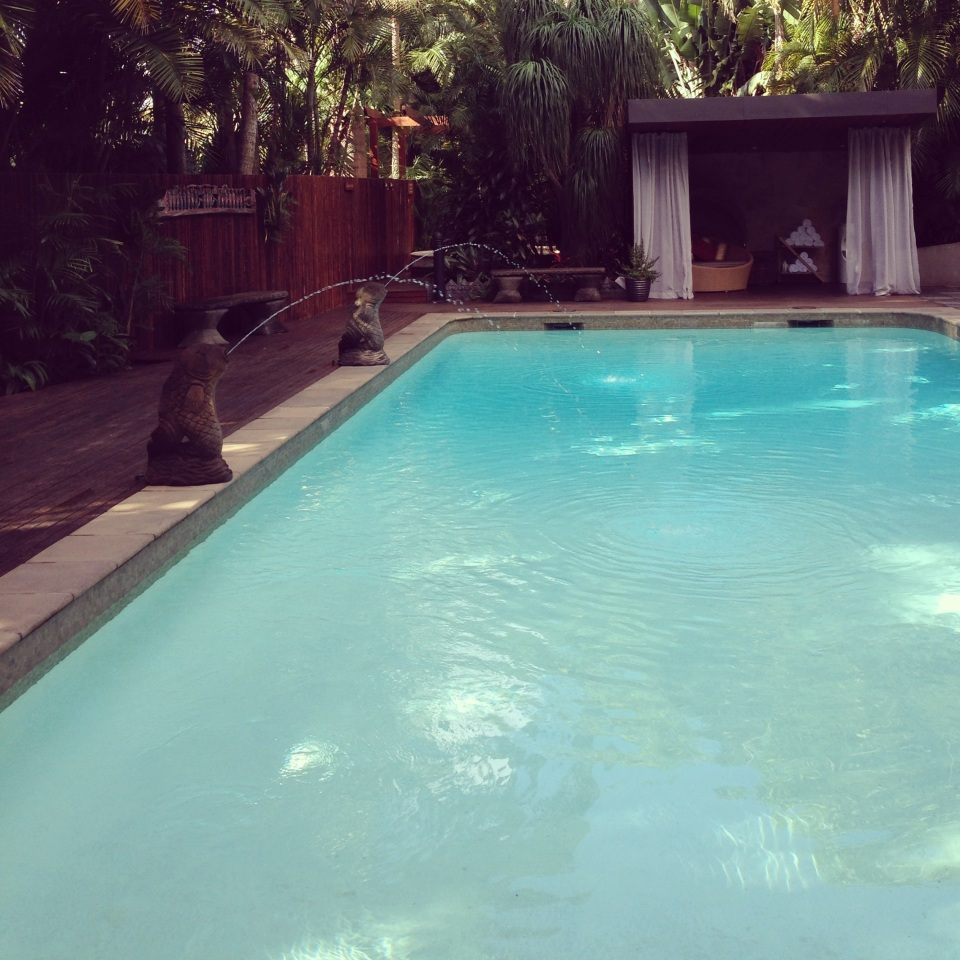 A HEATED SALT WATER POOL | GAIA DAY SPA