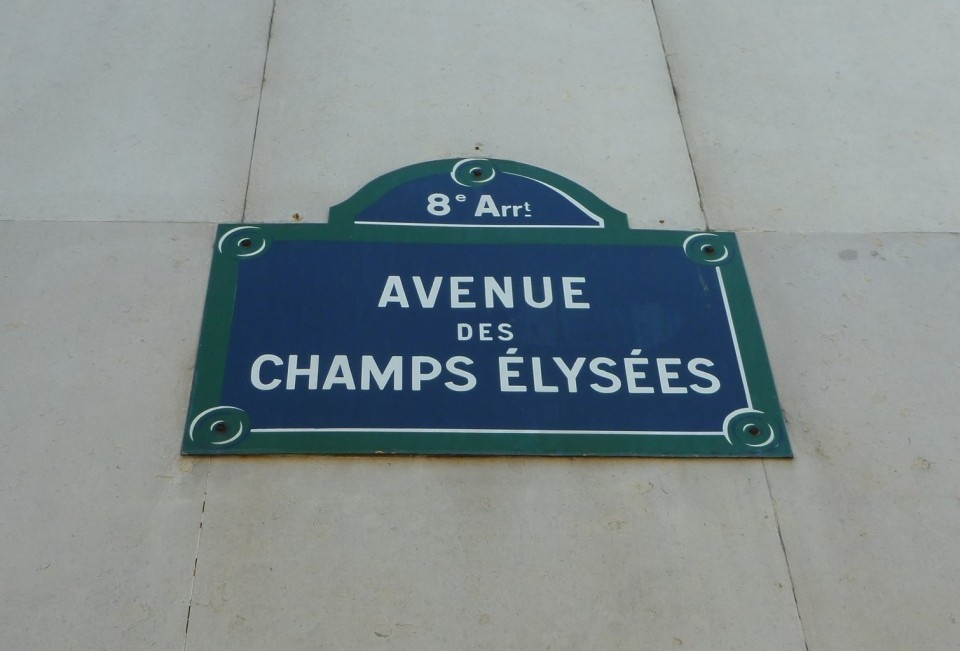 AVENUE DES CHAMPS-ÉLYSÉES IN THE 8TH ARRONDISSEMENT OF PARIS