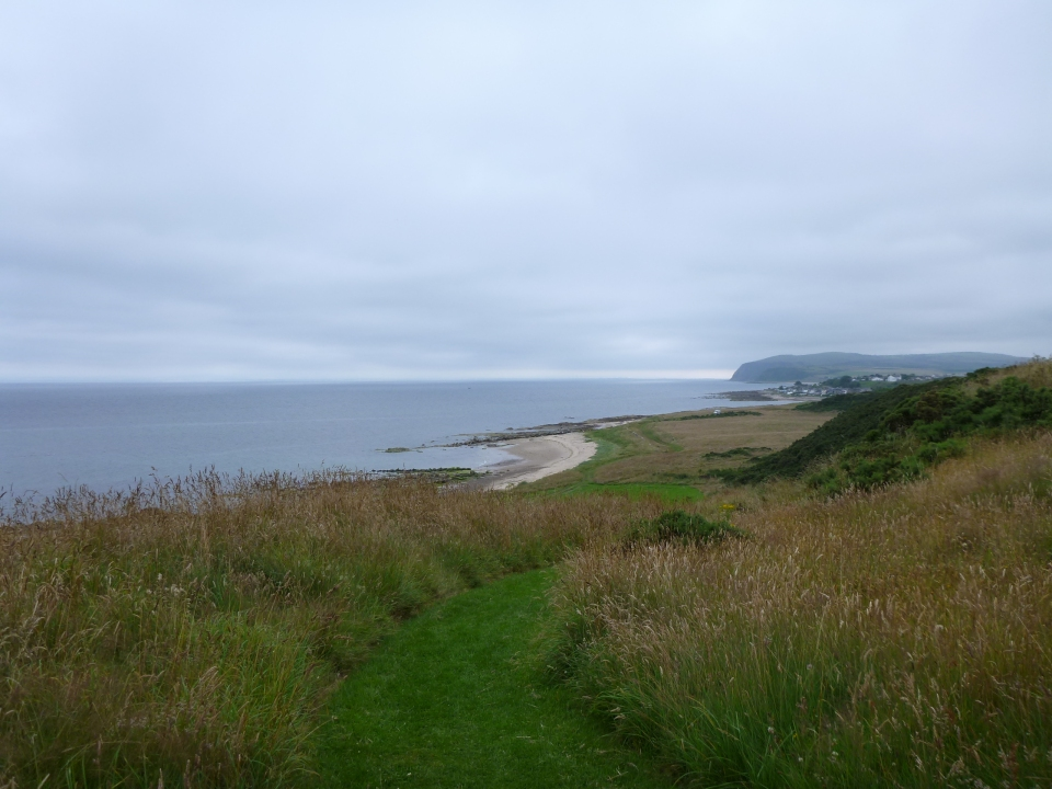VIEW TOWARDS THE PRIVATE BEACH
