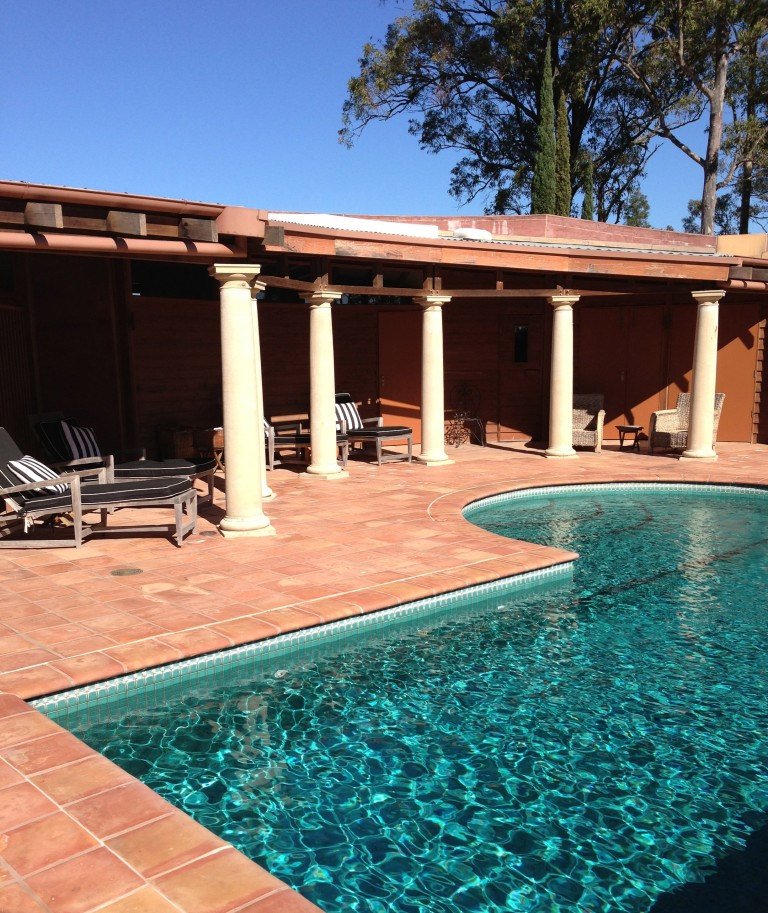TURQUOISE HEATED OUTDOOR POOL