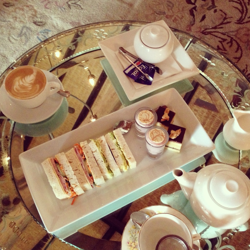 AFTERNOON TEA REFLECTIONS