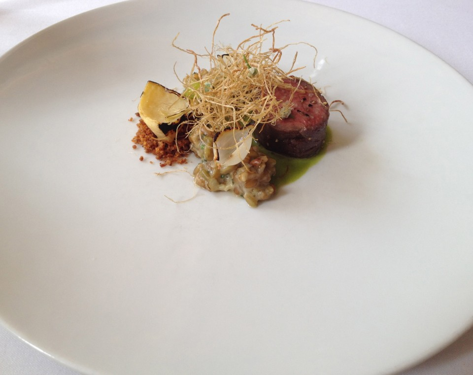 TASTING MENU | 9 - LAMB Roasted with Artichokes, Freekeh and Spring Onions