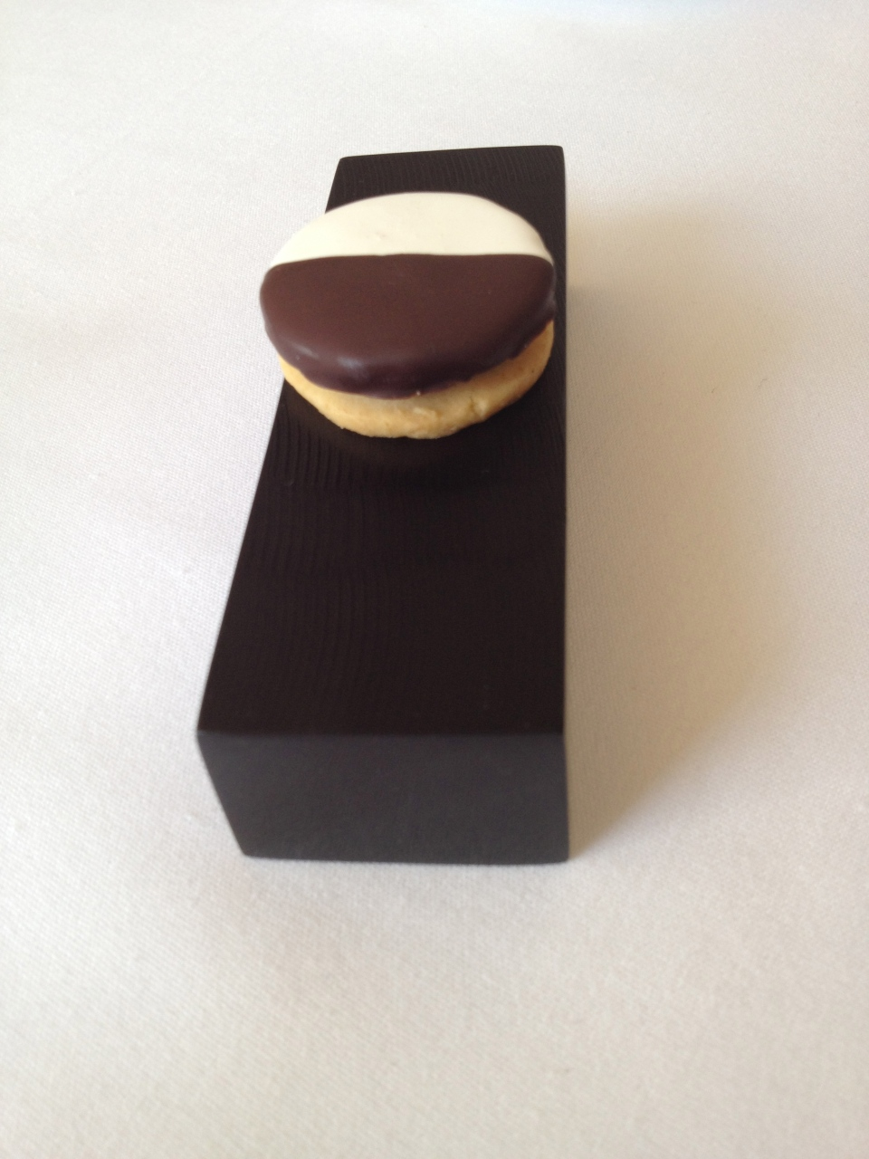 LAST BUT NOT LEAST.... Sweet version of the Black and White Cookie