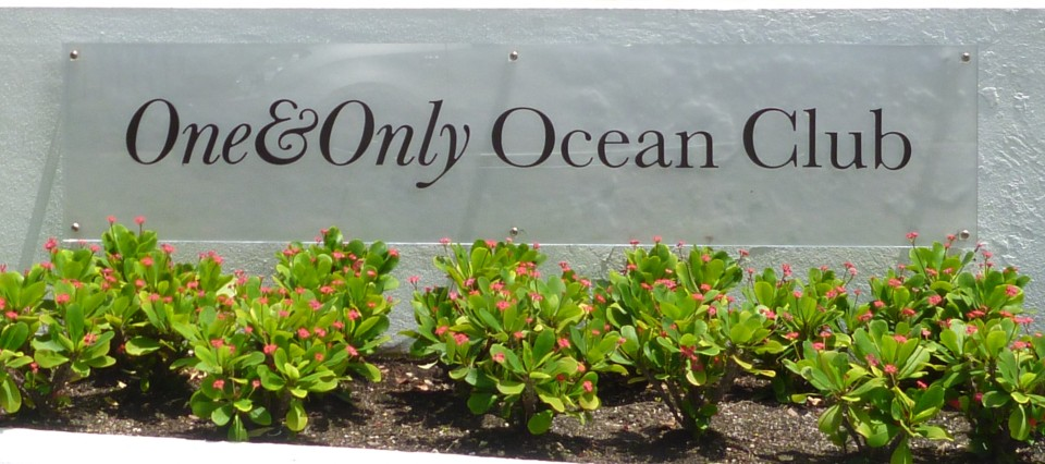 ONE&ONLY OCEAN CLUB ENTRANCE
