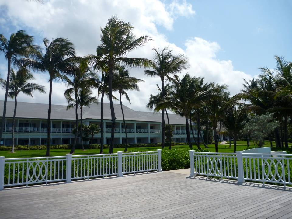 VIEW OF THE HARTFORD WING FROM THE BEACH DECK