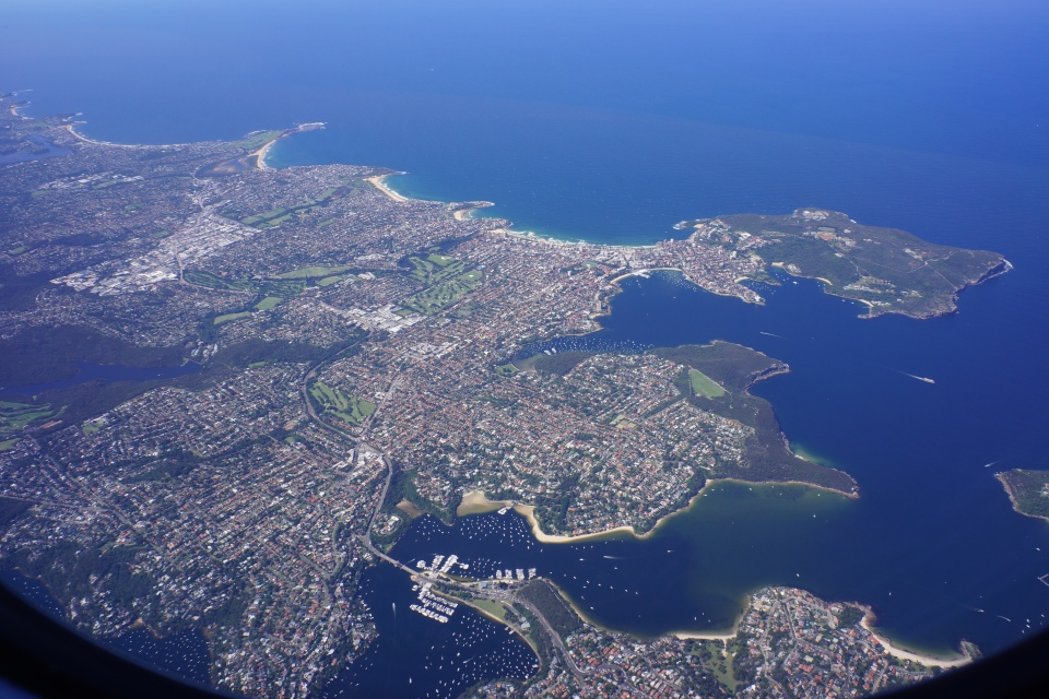 VIEW OVER MANLY BEACH AND THE SPIT