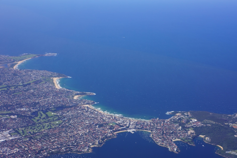 VIEW OVER MANLY BEACH