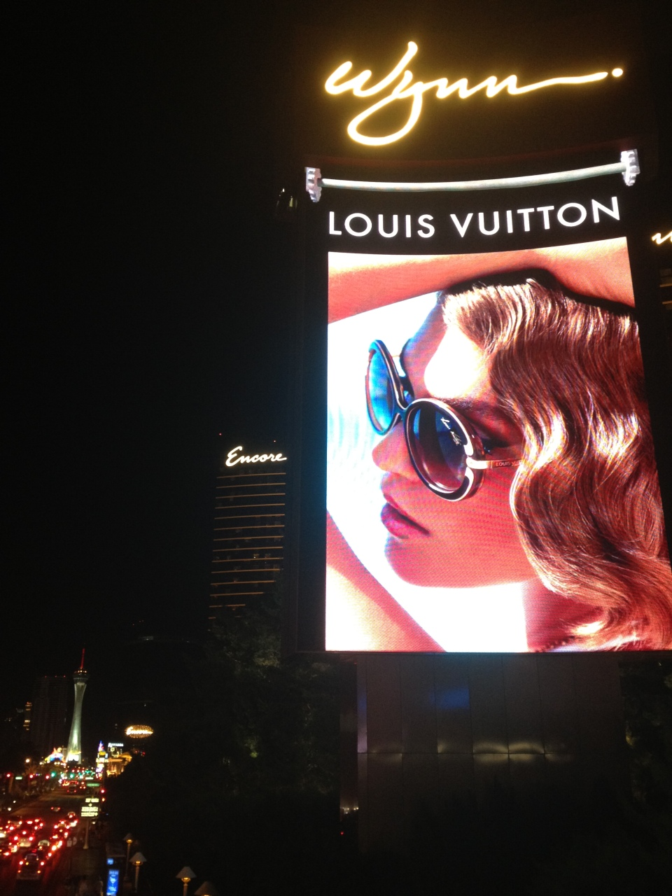 BILLBOARDS AT THE WYNN