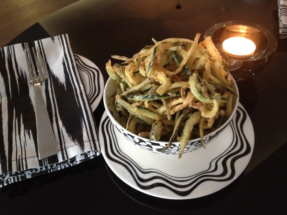 ZUCCHINI FRITTE AT BAR MISSONI