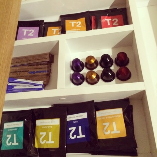 NESPRESSO AND T2 TEA