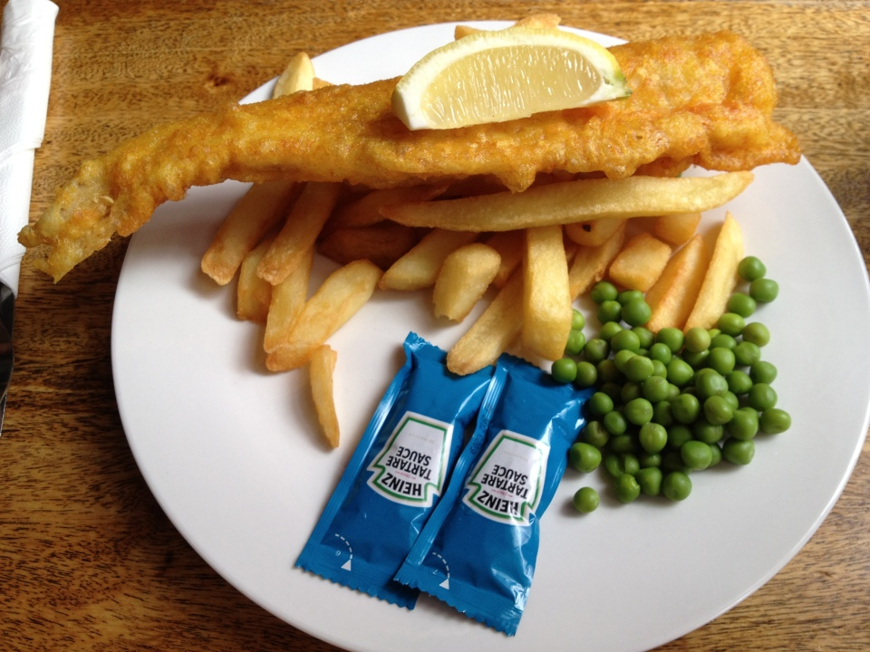 GF ENGLISH FISH AND CHIPS