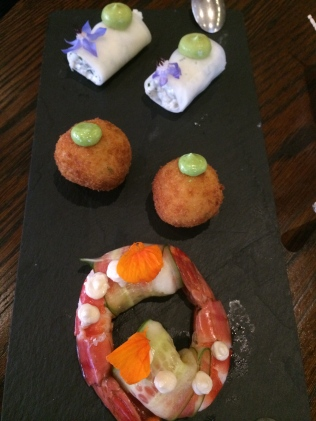 CHEFS CANAPÉS OF THE DAY