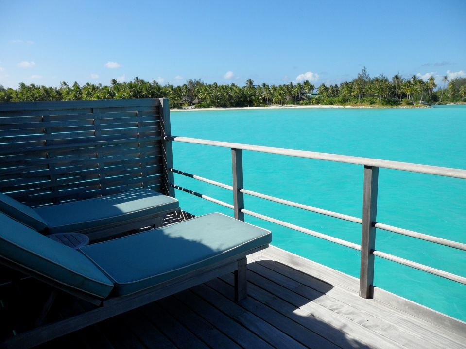 RELAX ON THE PRIVATE DECK WITH RESORT VIEWS