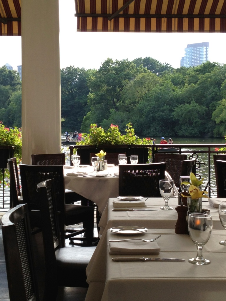 DINNER AT THE LOEB BOATHOUSE CENTRAL PARK
