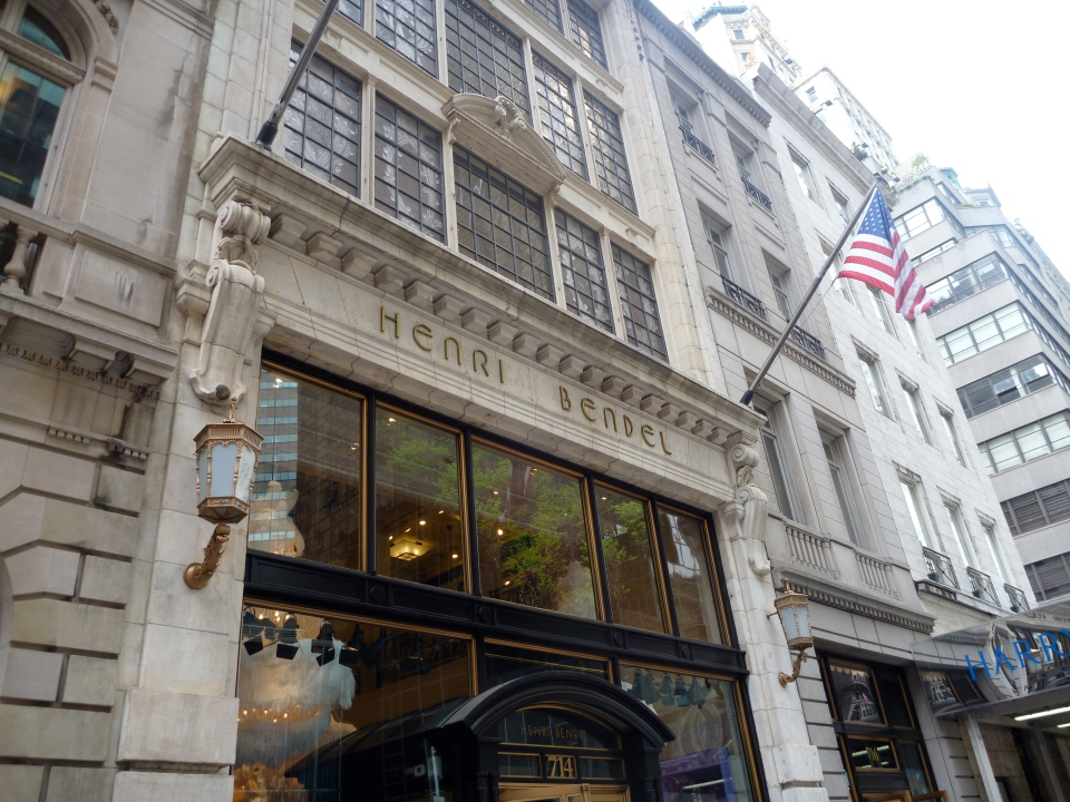 HENRI BENDEL FLAGSHIP ON FIFTH AVENUE
