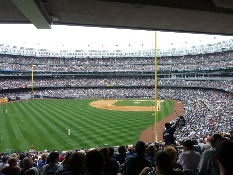 NEW YORK YANKEES VS LOS ANGELES ANGELS BASEBALL GAME