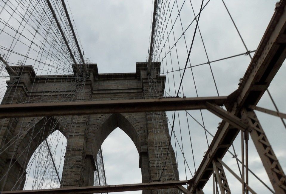 DRIVING OVER BROOKLYN BRIDGE
