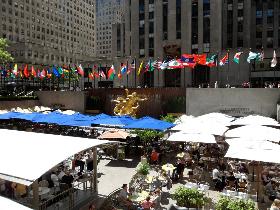 SUMMER IN THE ROCKEFELLER CENTER