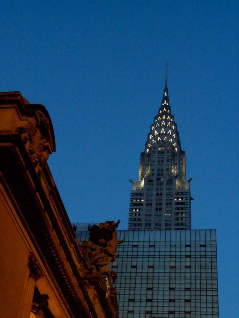 CHRYSLER BUILDING FROM GRAND CENTRAL TERMINAL