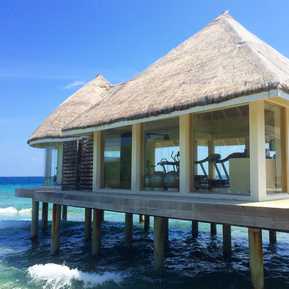 FOR THOSE WHO WOULD LIKE A VIEW WHEN EXERCISING ON HOLIDAY | FITNESS PAVILION