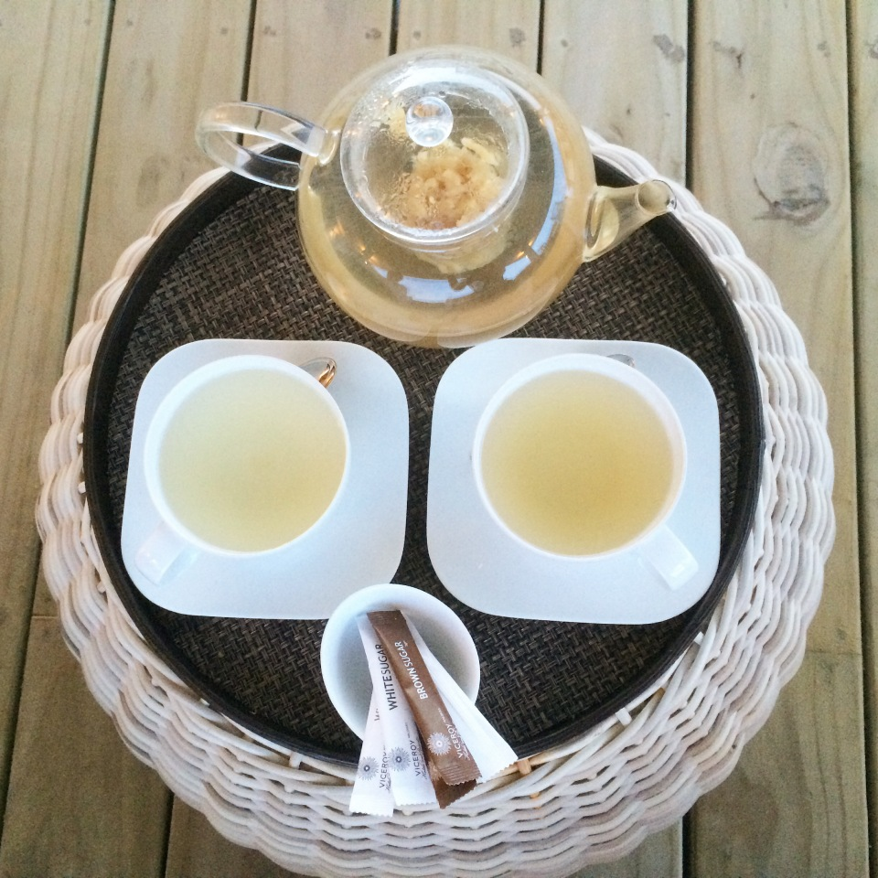 POST SPA HYDRATION | GINGER AND HONEY TEA