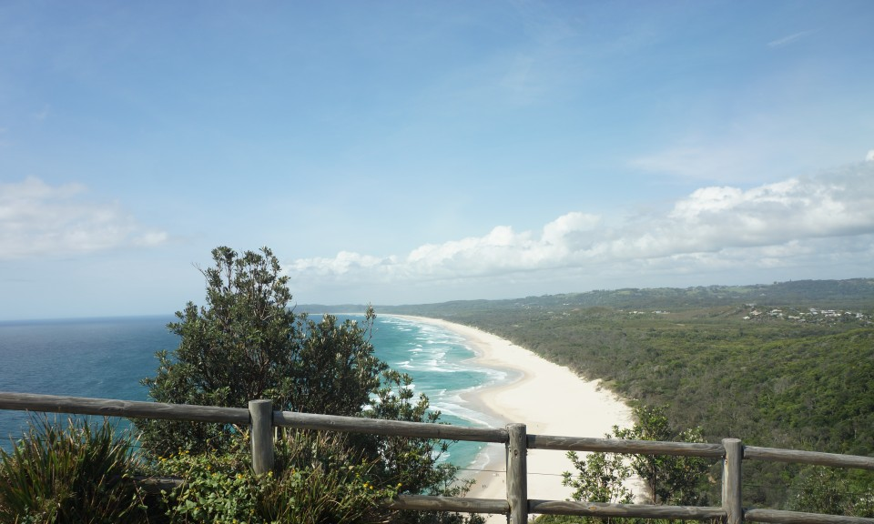 TALLOW BEACH VIEWS FROM CAPE BYRON