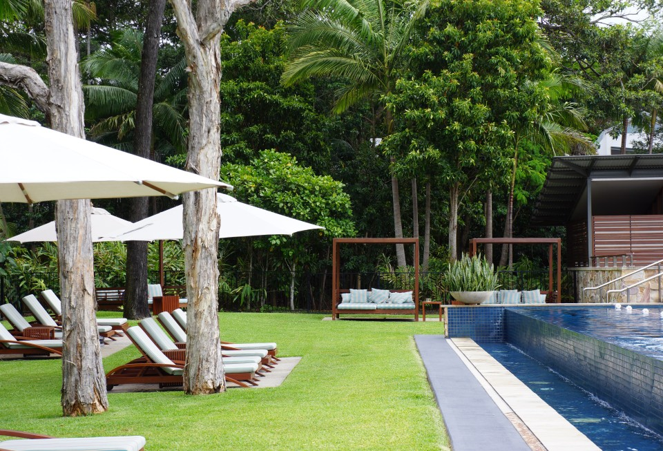 INFINITY POOL AND CABANAS