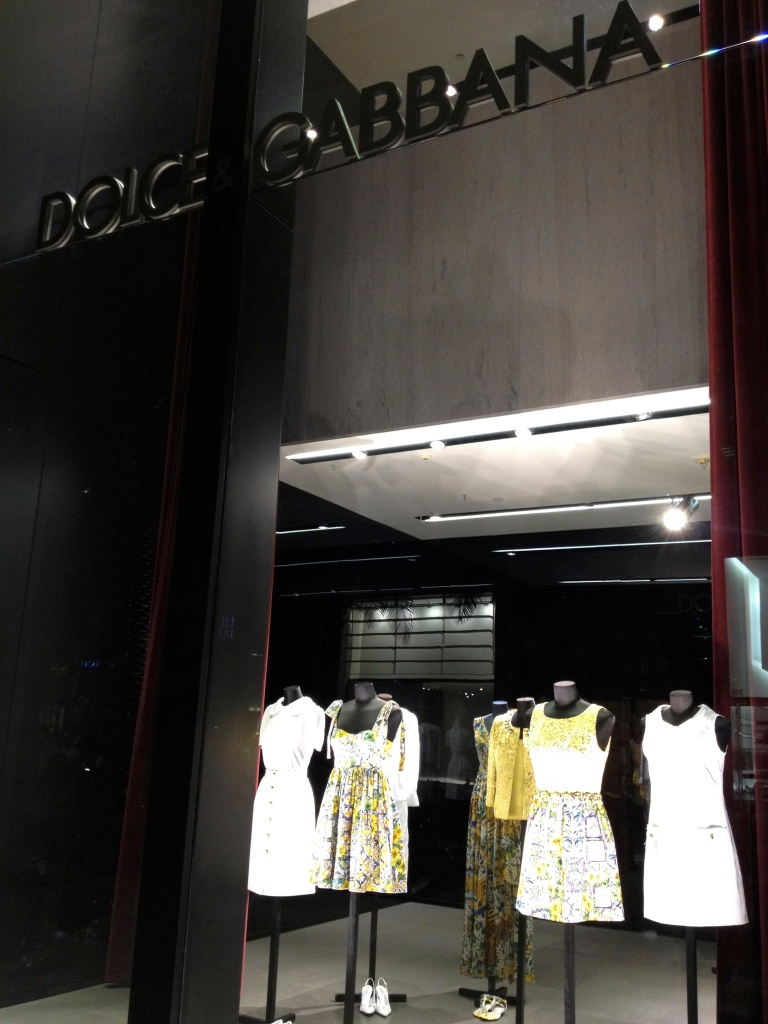 DOLCE & GABBANA ON 314 NORTH RODEO DRIVE