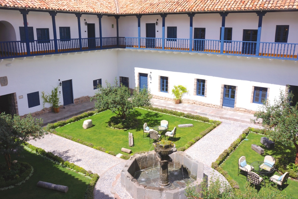 MAIN COURTYARD