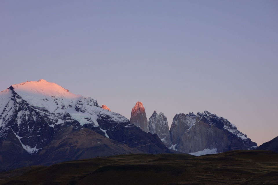 SUNRISE OVER THE GRANITE MASSIFS