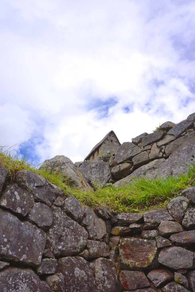 HOUSE OF GUARDS AT FUNERARY ROCK