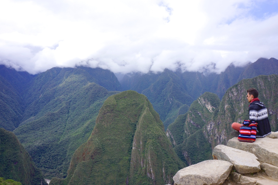 PEOPLE VISIT FROM AROUND THE WORLD FOR SOME SERENITY AT MACHU PICCHU