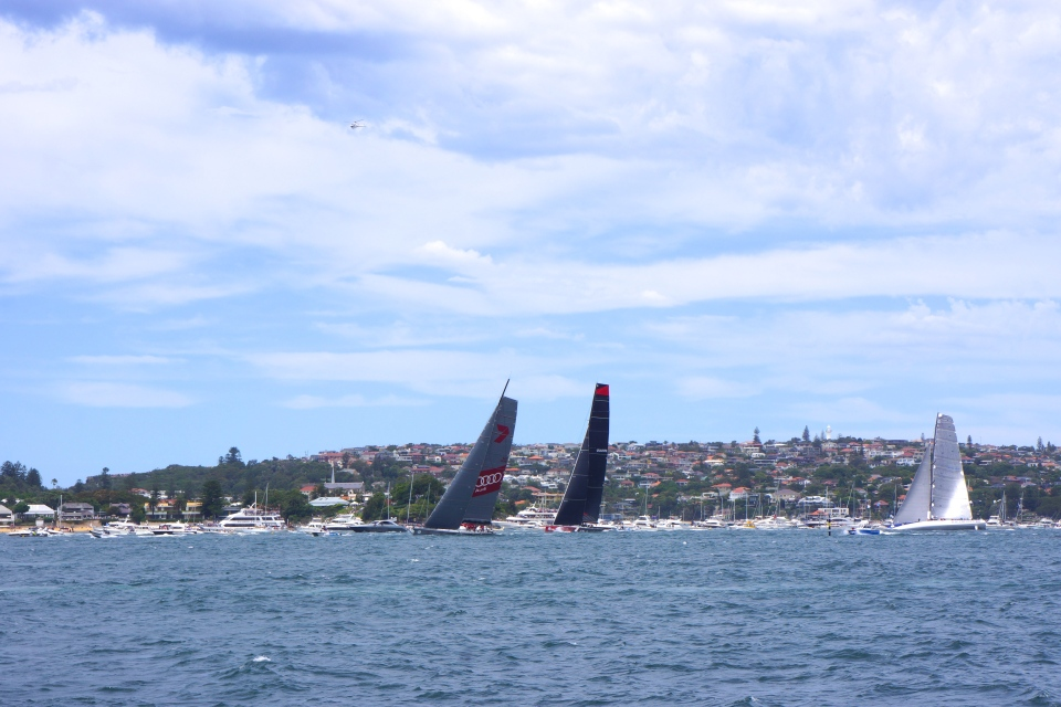 WILD OATS XI, COMANCHE AND RAGAMUFFIN