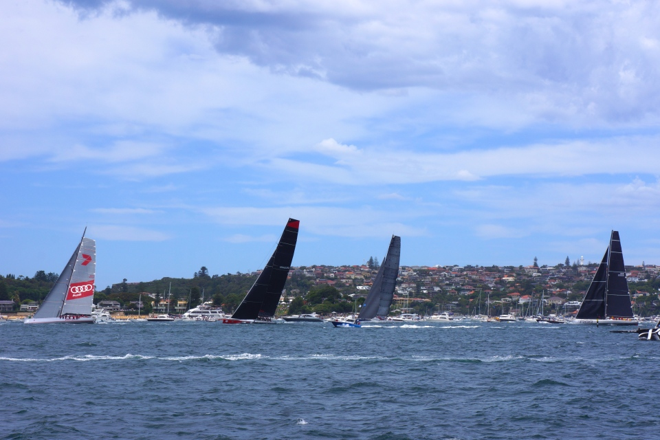 WILD OATS XI, COMANCHE AND RAMBLER 88
