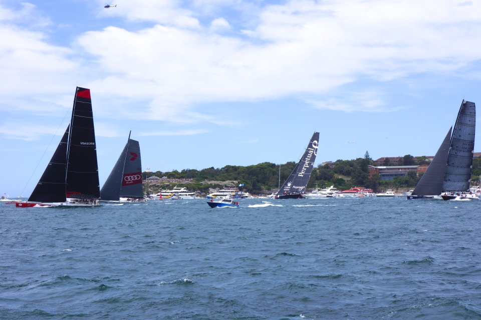 COMANCHE, WILD OATS XI AND PERPETUAL LOYAL