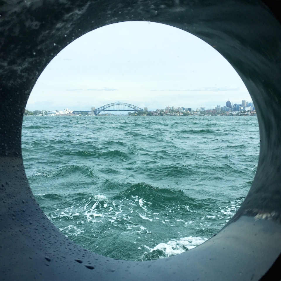 PORT HOLE VIEWS